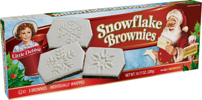 Snowflake Brownies - Prodotto - en