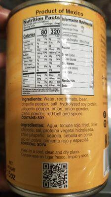 VEGETARIAN CHILI - Ingredients - en