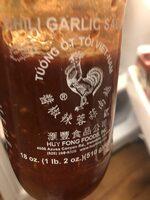 Chili Garlic Sauce, Hot - Product