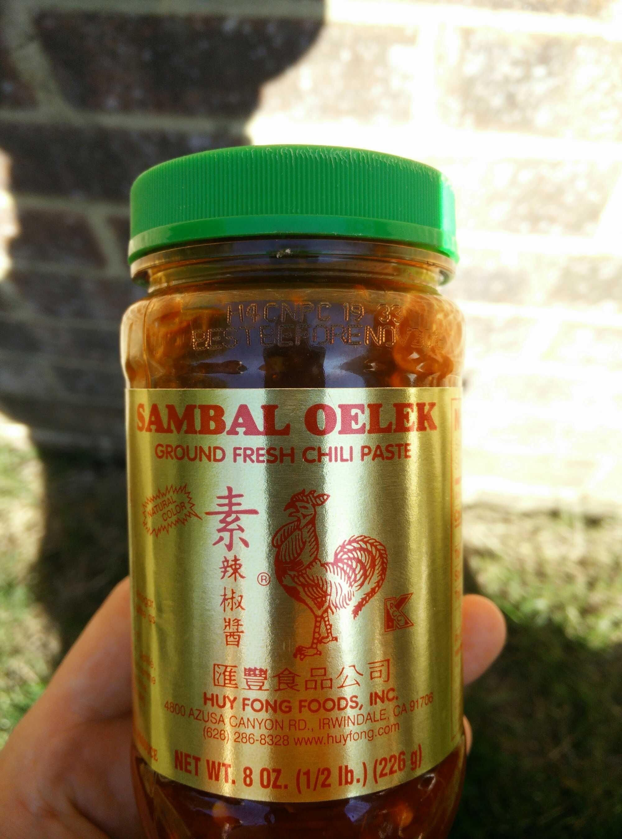 Ground Fresh Chili Paste - Product - en