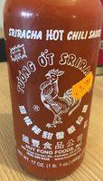 Sriracha hot chili sauce - Product - en