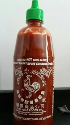 Sriracha Hot Chili Sauce - Produit