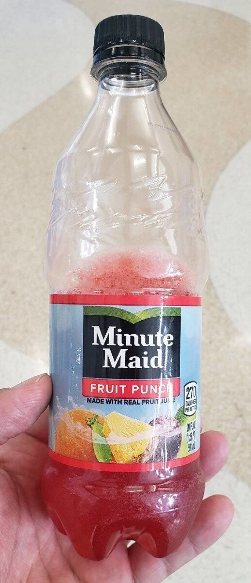 Minute Maid Fruit Punch - Product