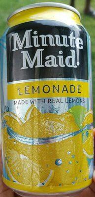Minute Maid Lemonade - Valori nutrizionali - en