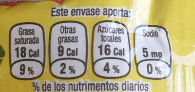 Bocadín - Información nutricional - es