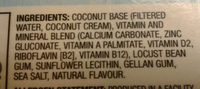 Unsweetened Coconut Original - Ingredients - en