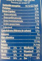 Almond milk no sugar - Nutrition facts