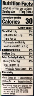Dairy-Free Soy Creamer - Nutrition facts