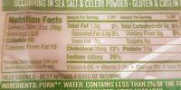 Applegate Naturals Ham Slow Cooked Uncured - Ingredients