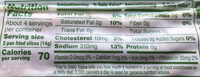 Uncured Bacon, no sugar, hickory smoked - Nutrition facts