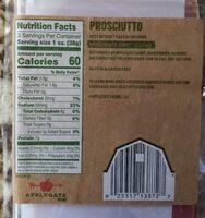 Naturals prosciutto - Informations nutritionnelles - en