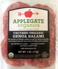 Uncured Organic Genoa Salami - Product