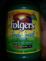 Folgers Simply Smooth Decaf (medium) - Product - en