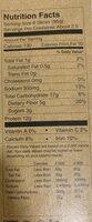 Smoky maple bacon - Nutrition facts - en