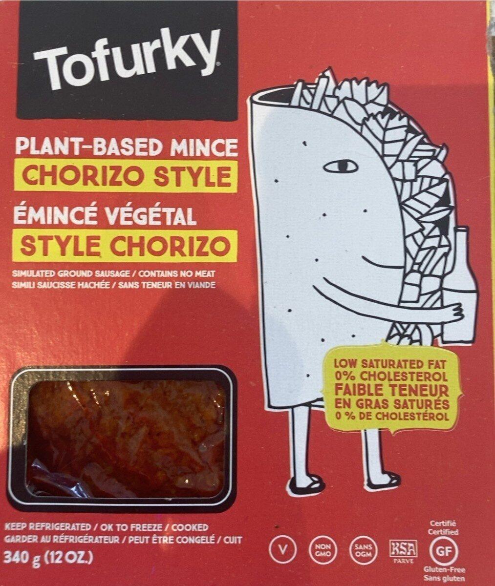 Émincé végétal Sty'e Chorizo - Produit - en