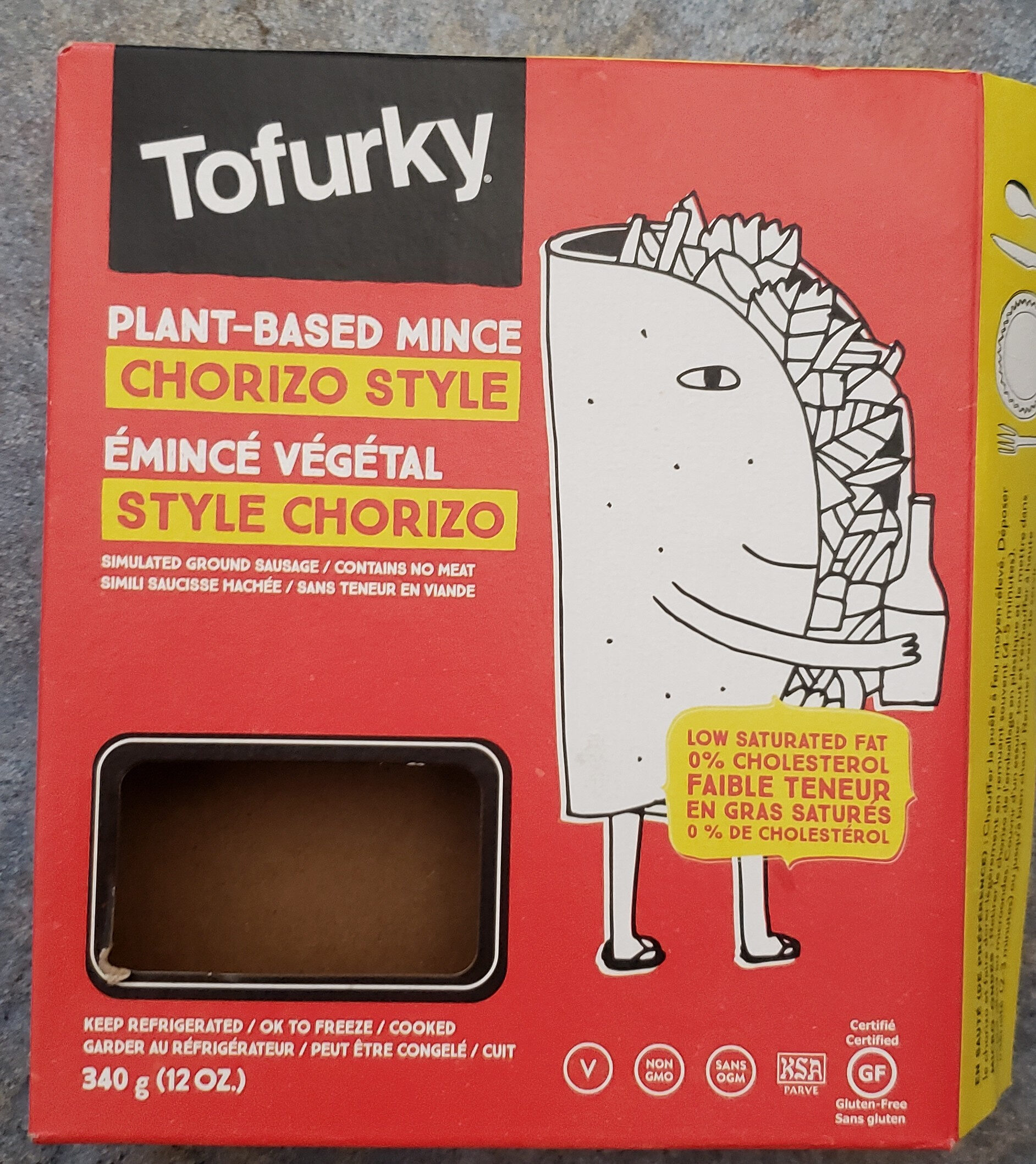 Plant-Based mince chorizo style - Product