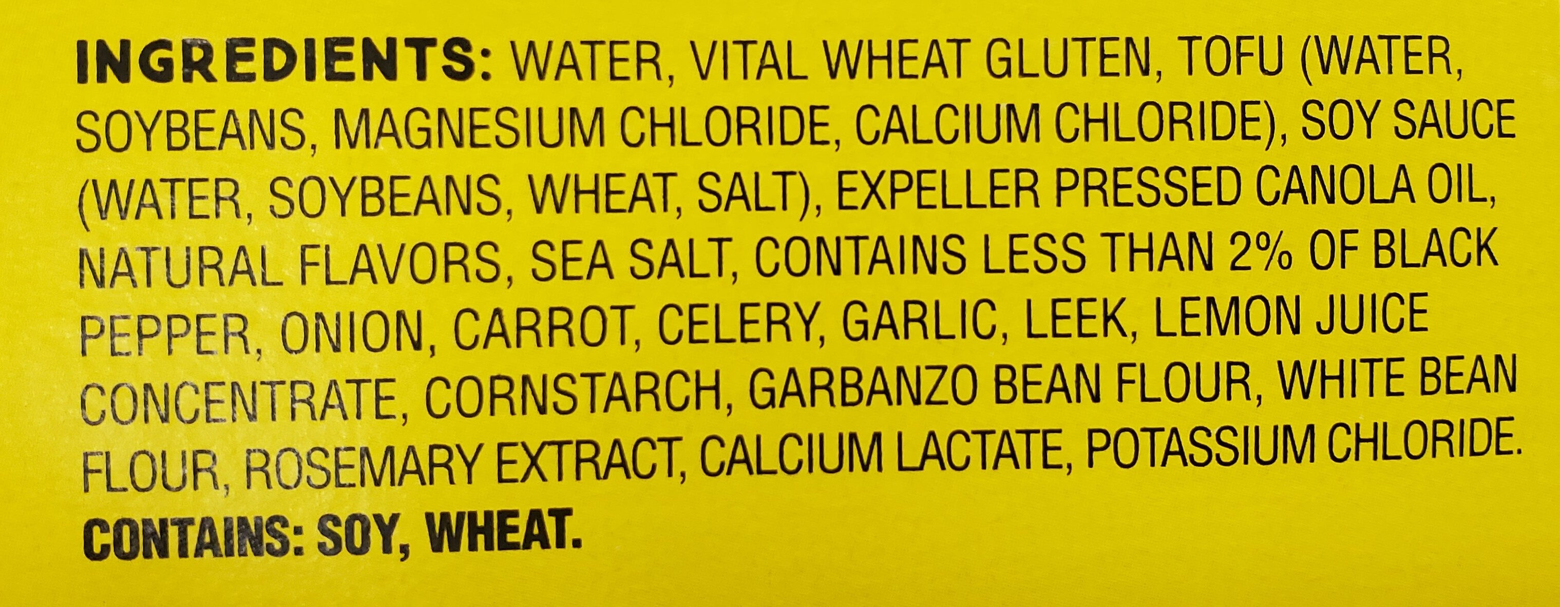 Deli slices peppered - Ingredients - en
