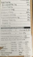 Slow roasted chick'n lightly seasoned - Nutrition facts - en