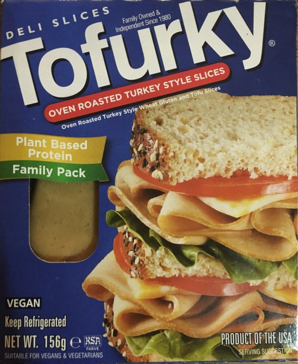 Tofurky Oven Roasted Turkey Style Deli Slices - Produit - fr