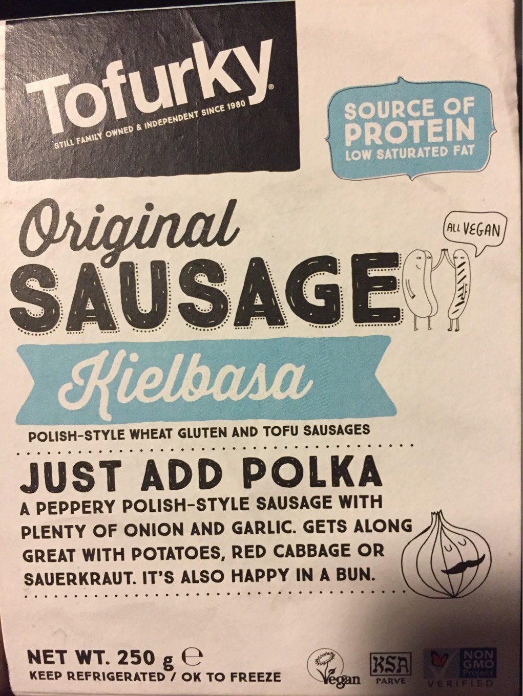 Tofurky Kielbasa Polish Style Meatless Sausages - Informations nutritionnelles - en