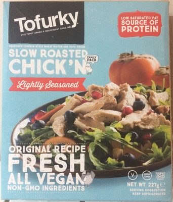 Tofurky 10% Off Slow Roasted Chick'n Lightly Seasoned 227G (order 5 For Trade Ou - Product - fr