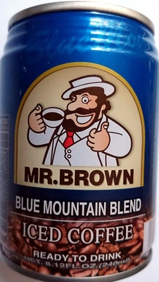 Mr Brown Iced Coffee Blue Mountain Blend - Product