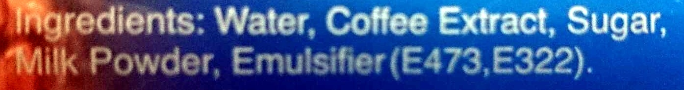 Iced coffee - Ingredients - en
