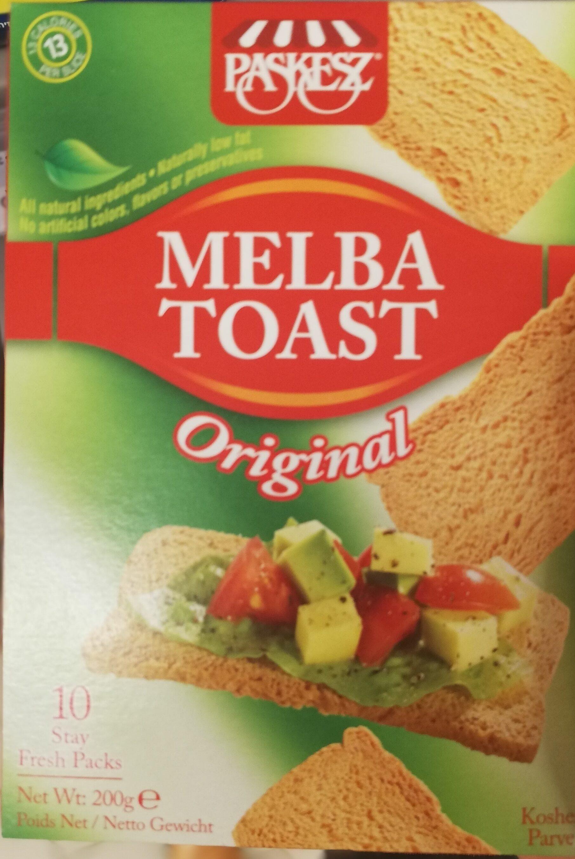 Melba Toast Original - Produit - fr