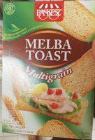 Melba Toast Multigrain- 200 G - Produit - fr