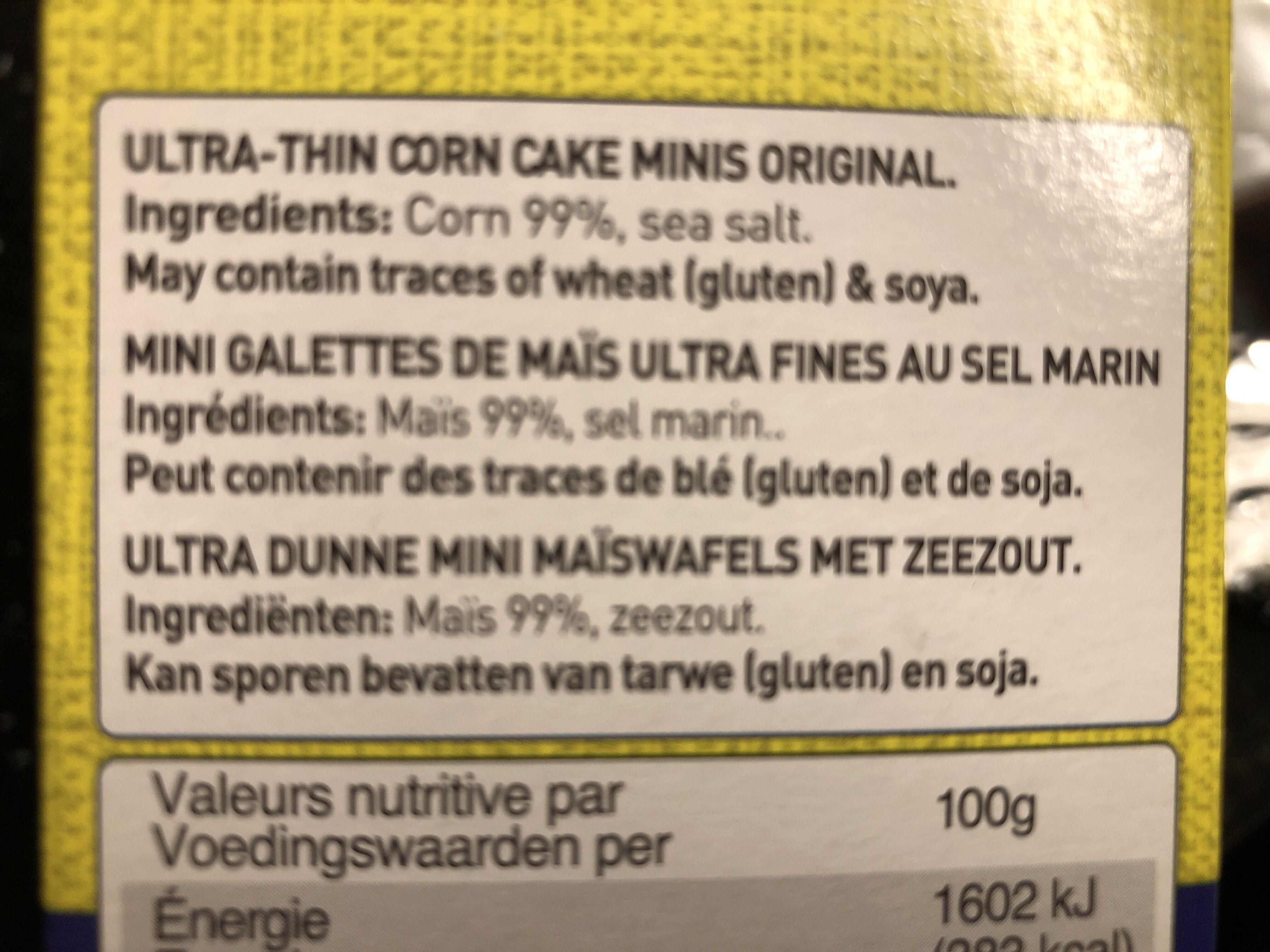 Golden harvest - Ingredients