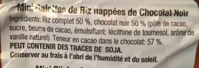 Rice Choco - Ingrédients - fr