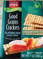 Flatbreads everything good grains crackers - Produit - fr