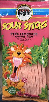 Sour Sticks, Pink Lemonade Flavored - Product - fr