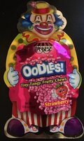 Oodles Tiny Tangy Fruity Chews Strawberry - Produit - fr