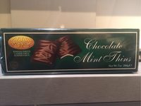 Chocolate mint thins - Produit - fr