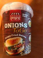 Crispy fried onions - Produit - fr