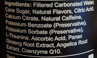Original citrus energy drink, original citrus - Ingredients - en