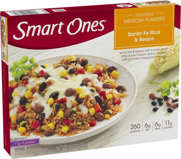 Classic favorites santa fe style frozen rice & beans - Prodotto - en