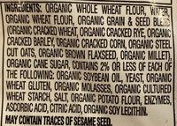 Organic Soft Multigrain Bread - Ingredients - en