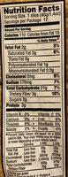 Organic Soft Multigrain Bread - Nutrition facts - en