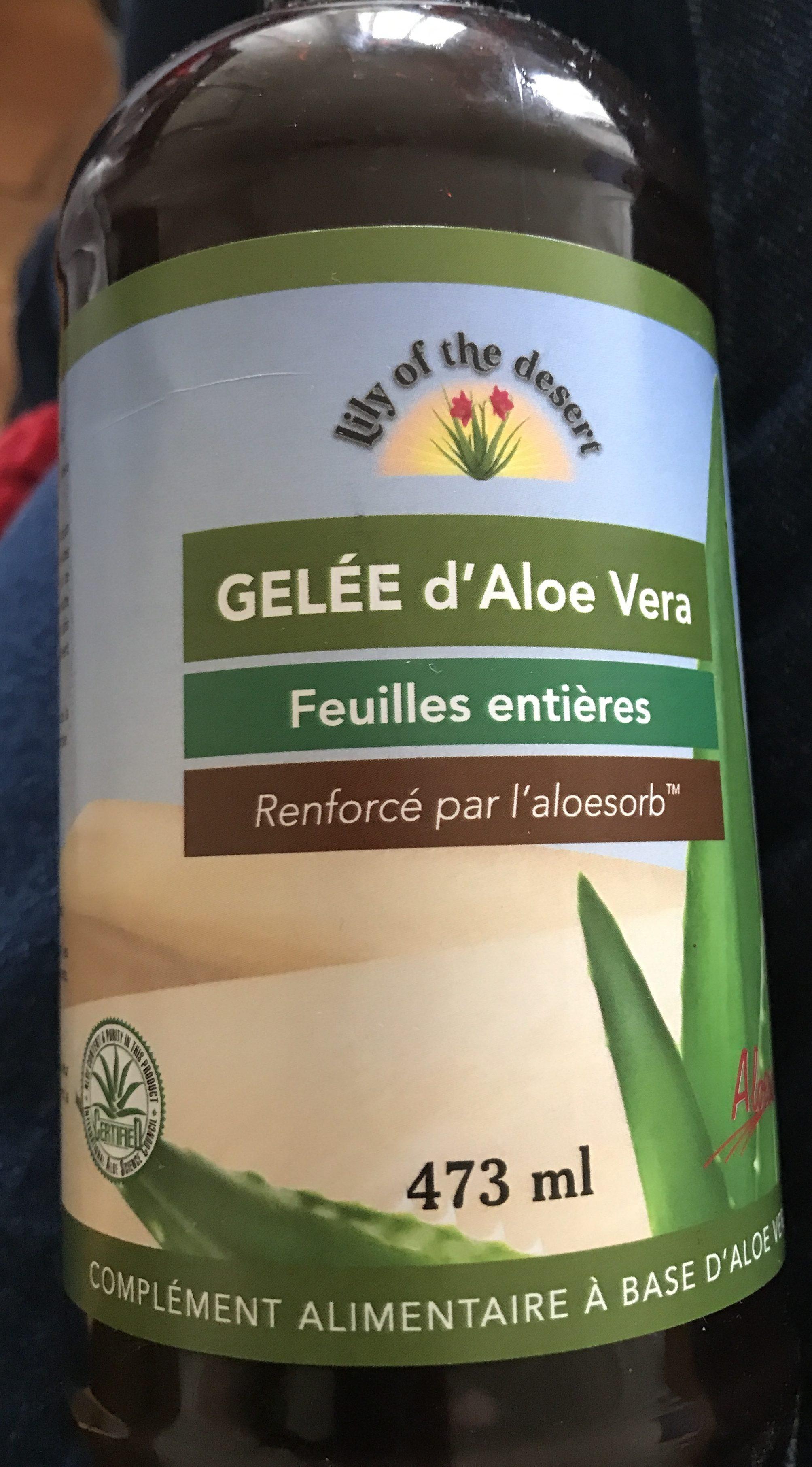 Gelée d'Aloe Vera - Product