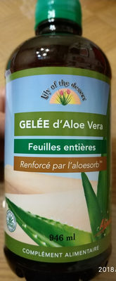 Gelée D'Aloe Vera - 946 ML - Lily of the Desert - Product