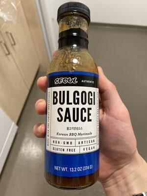 Korean bbq marinade bulgogi sauce, korean bbq marinade - Product - en