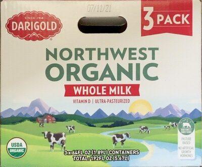 Northwest organic whole milk - Product - en