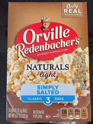 ORVILLE REDENBACHERS Naturals light - Product - en