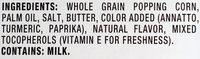 Movie theater butter microwave popcorn - Ingredients - en