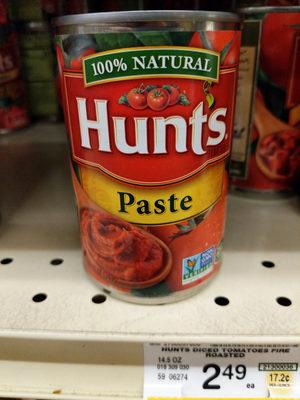 Hunt's Tomato Paste, 12 oz, 12 OZ - Product - en