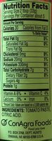 HUNTS Tomato Paste, 6 OZ - Nutrition facts - en
