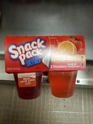 Strawberry Gelatin - Product