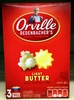 ORVILLE REDENBACHERS Light Butter Popcorn, 8.07 OZ - Produit